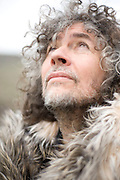 Wayne Coyne poses for a portrait backstage at the Sasquatch Music Festival in George, WA. in 2011