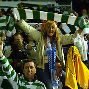Celtic's fans celebrate victory