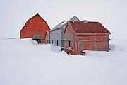 Old farmstead<br /> Rowatt<br /> Saskatchewan<br /> Canada