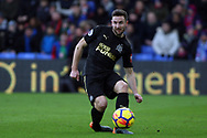 Paul Dummett of Newcastle Utd in action. Premier League match, Crystal Palace v Newcastle Uutd at Selhurst Park in London on Sunday 4th February 2018. pic by Steffan Bowen, Andrew Orchard sports photography.