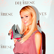 U.S. heiress, actress and singer Paris HILTON seen during their press conference at the Istanbul on Tuhursday 22 September 2011. The name of the most talked about models of shoes designed by Hilton, Divarese will introduce a collection of shoes sold in stores. Attention! Sweden, Norway, Denmark, Baltic countries. and Japan OUT. Photo by TURKPIX