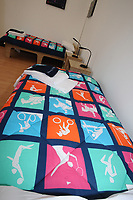 Olympic Athletes Village Oylmpic games 12/07/2012 Credit : Colorsport / Andrew Cowie<br /> Athletes Beds