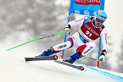 03.03.2019, Olympiabakken, Kvitfjell, NOR, FIS Weltcup Ski Alpin, SuperG, Herren, im Bild Stefan Rogentin SUI // in action during his run in the men's Super-G of FIS ski alpine world cup.  Olympiabakken in Kvitfjell, Norway on 2019/03/03. EXPA Pictures © 2019, PhotoCredit: EXPA/ SM<br /> <br /> *****ATTENTION - OUT of GER*****