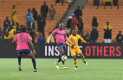 SOUTH AFRICA: JOHANNESBURG: Kaizer Chiefs player Khama Billiat battle for the ball with Black Leopards FC player Jean Munganga during the ABSA premiership at the FNB stadium, Gauteng.<br />Picture: Itumeleng English/African News Agency (ANA)