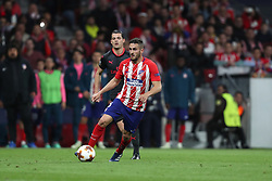 May 3, 2018 - Madrid, Spain - KOKE of Atletico de Madrid during the UEFA Europa League, semi final, 2nd leg football match between Atletico de Madrid and Arsenal FC on May 3, 2018 at Metropolitano stadium in Madrid, Spain (Credit Image: © Manuel Blondeau via ZUMA Wire)