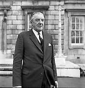 New Dáil Deputies arrive at Leinster House. Cormac Breslin, new Dáil Ceann Comhairle 14th November 1967