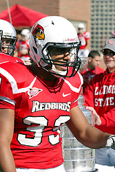 16 October 2010:  Cameron Hunt during a game where the North Dakota State Bison lost to the Illinois State Redbirds 34-24, meeting at Hancock Stadium on the campus of Illinois State University in Normal Illinois.