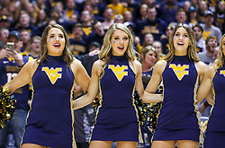 """Jan 14, 2020; Morgantown, West Virginia, USA; West Virginia Mountaineers dancers sing """"Country Roads"""" after defeating the TCU Horned Frogs at WVU Coliseum. Mandatory Credit: Ben Queen-USA TODAY Sports"""