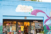 Willows Dream salon on Broadway in Asheville, North Carolina.