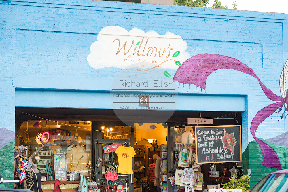 Willows Dream salon on Broadway in Asheville, North Carolina.