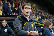 Burton Albion manager Nigel Clough during the The FA Cup 3rd round match between Watford and Burton Albion at Vicarage Road, Watford, England on 7 January 2017. Photo by Richard Holmes.