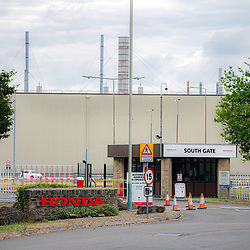 Honda workers return to back to work 8th June 2020 after extensive lockdown due to coronovirus