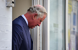 The Prince of Wales during a visit Muslim Welfare House in north London to meet members of the local community and hear about the community response following the recent terrorist attack.