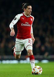 Hector Bellerin of Arsenal - Mandatory by-line: Robbie Stephenson/JMP - 15/03/2018 - FOOTBALL - Emirates Stadium - London, England - Arsenal v AC Milan - UEFA Europa League Round of 16, Second leg