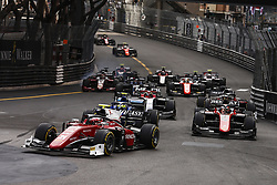 May 26, 2018 - Montecarlo, Monaco - Race start  during the Monaco Formula Two - Race 2 Grand Prix at Monaco on 26th of May, 2018 in Montecarlo, Monaco. (Credit Image: © Xavier Bonilla/NurPhoto via ZUMA Press)