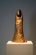 Ceramic female finger and nail At the Goulandris Museum of Contemporary Art is a modern art museum in Eratosthenous Street, Pangrati, Athens, Greece, opened in October 2019.