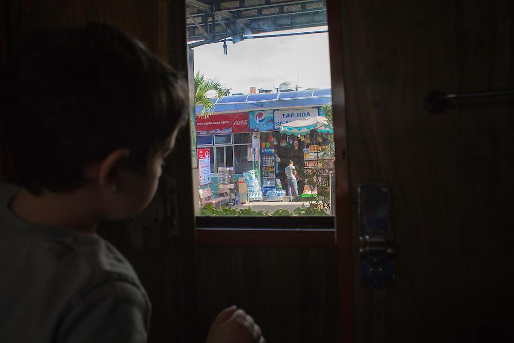 Saigon to Hanoi on the reunification railway.