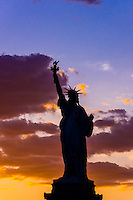 Statue of Liberty, New York Harbor, New York, New York USA.