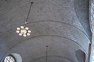 NEW YORK  2020V10<br /> Taket i registreringsrummet på Ellis Island.<br /> <br /> Foto: Per Danielsson/Projekt.P