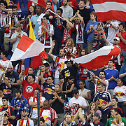 New York Red Bulls fans during the New York Red Bulls V Chivas USA Major League Soccer match at Red Bull Arena, Harrison, New Jersey, 23rd May 2012. Photo Tim Clayton