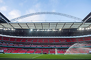 General shot of the stadium at the FIFA World Cup Qualifier match between England and Slovakia at Wembley Stadium, London, England on 4 September 2017. Photo by Sebastian Frej.