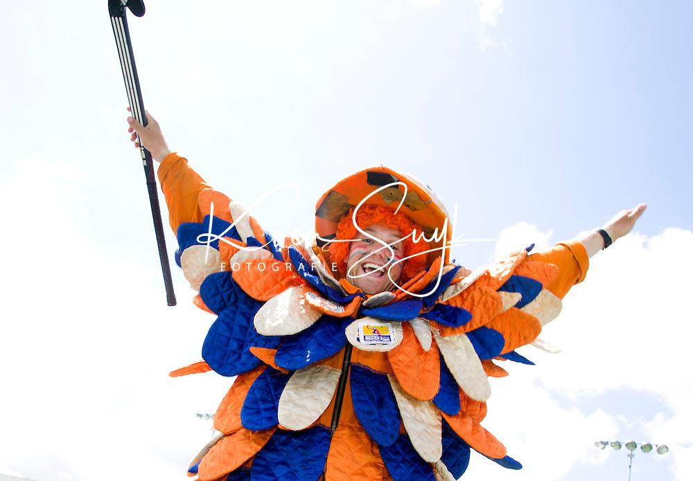 DEN HAAG - De Bloemendaalse MUS bij Rabobank Kidsday. tijdens World Cup Hockey 2014 . FOTO KOEN SUYK