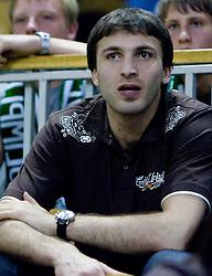 Manucar Markoisvili at third finals basketball match of Slovenian Men UPC League between KK Union Olimpija and KK Helios Domzale, on June 2, 2009, in Arena Tivoli, Ljubljana, Slovenia. Union Olimpija won 69:58 and became Slovenian National Champion for the season 2008/2009. (Photo by Vid Ponikvar / Sportida)