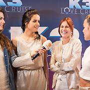 NLD/Rotterdam/20170627 - Persconferentie K3 film, Marthe De Pillecyn. Klaasje Meijer en Hanne Verbruggen