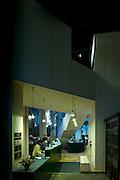 Garden museum interior architecture, dow jones architects, London