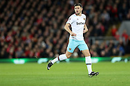 Aaron Cresswell of West Ham United during the Premier League match at Anfield Stadium, Liverpool. Picture date: December 11th, 2016.Photo credit should read: Lynne Cameron/Sportimage