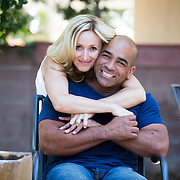 Former San Jose Police Officer Fredrick Kotto saved a woman from being robbed on a BART train. Kotto was off duty and en route to San Francisco with his fiance (shown here with him in Los Angeles) to obtain their marriage license when he stepped-in to confront a suspect attempting to rob a woman on the train.