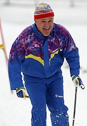Cross-country skier, on April 24, 2008, in Pokljuka, Rudno polje, Slovenia.  (Photo by Vid Ponikvar / Sportal Images)/ Sportida)
