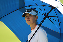 SINGAPORE, March 3, 2018  Jessica Korda of the United States looks on during the 3rd round of the HSBC Women's World Championship held in Singapore's Sentosa Golf Club on March 3, 2018. (Credit Image: © Then Chih Wey/Xinhua via ZUMA Wire)