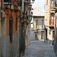 Europe, Spain, Toledo. Street of Toledo.