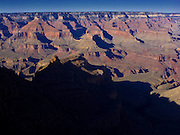Oct. 6, 2008 -- GRAND CANYON NATIONAL PARK: Sunset looking from the south rim of the Grand Canyon National Park to the north rim in northern Arizona. Photo by Jack Kurtz