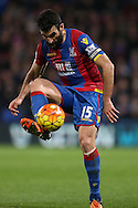 Mile Jedinak, the Captain Palace captain in action. Barclays Premier League match, Crystal Palace v Swansea city at Selhurst Park in London on Monday 28th December 2015.<br /> pic by John Patrick Fletcher, Andrew Orchard sports photography.