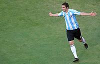 Fotball<br /> VM 2010<br /> 17.06.2010<br /> Argentina v Sør Korea<br /> Foto: Witters/Digitalsport<br /> NORWAY ONLY<br /> <br /> Jubel 4:1 Torschuetze Gonzalo Higuain (Argentinien)<br /> Fussball WM 2010 in Suedafrika, Vorrunde, Argentinien - Suedkorea 4:1