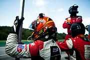 August 25-27, 2017: IMSA Weathertech GT Challenge. 48 Paul Miller Racing, Lamborghini Huracan GT3, Bryan Sellers