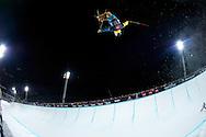 David Wise during Men's Ski SuperPipe Finals at Winter X Games Europe 2012 in Tignes, France. ©Brett Wilhelm/ESPN
