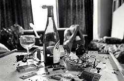 Drugs & drink detritus, UK 1990