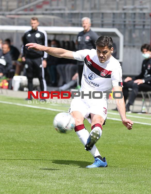 nph00001  17.05.2020 --- Fussball --- Saison 2019 2020 --- 2. Fussball - Bundesliga --- 26. Spieltag: FC Sankt Pauli - 1. FC Nürnberg ---  DFL regulations prohibit any use of photographs as image sequences and/or quasi-video - Only for editorial use ! --- <br /> <br /> Konstantinos Mavropanos (3, 1. FC Nürnberg ) <br /> <br /> Foto: Daniel Marr/Zink/Pool//via Kokenge/nordphoto