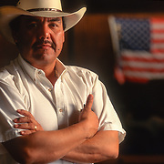 """Rogelio Flores, Mayor of Eagle Pass, Texas, has been criticized for not doing more to stop drug smugglers from crossing the border. Small border towns like Eagle Pass, lacking the federal funds of larger cities are under siege by undocumented immigrants trafficking drugs into the United States. """" I'm uneasy myself and I'm trained for this. They're haulin ' drugs just down from my house, """" the Eagle Pass Chief of Police told the New York Times."""
