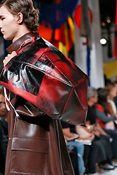 Details, accessories, Handbags and shoes on the runway during the Calvin Klein Fashion show at New York Fashion Week Spring Summer 2018 held in New York, NY on September 7, 2017. (Photo by Jonas Gustavsson/Sipa USA)