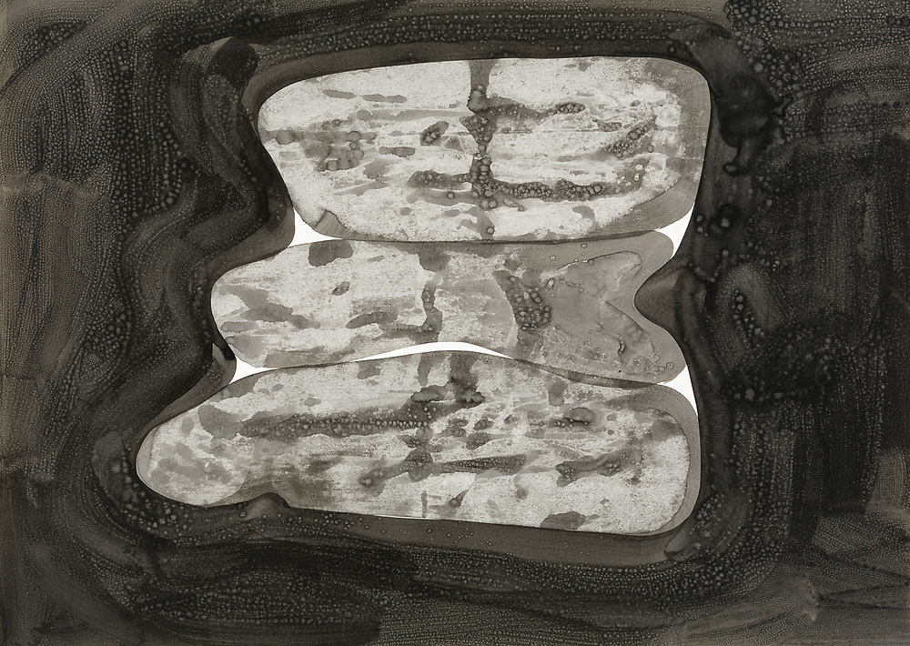 Indian ink on paper, 64 x 90 cm. 1999