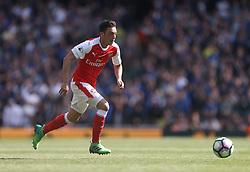 21 May 2017 London : Premier League - Arsenal v Everton :<br /> Mesut Ozil of Arsenal in action.<br /> Photo: Mark Leech