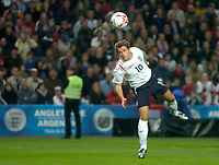 Photo: Glyn Thomas.<br />England v Argentina. International Friendly. 12/11/2005.<br />England's Michael Owen scores early for his team but it is ruled offside.