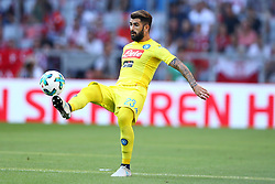August 1, 2017 - Munich, Germany - Elsed Hysaj of Napoli during the first Audi Cup football match between Atletico Madrid and SSC Napoli in the stadium in Munich, southern Germany, on August 1, 2017. (Credit Image: © Matteo Ciambelli/NurPhoto via ZUMA Press)