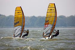 RS:X Men. Medemblik - the Netherlands, May 22nd 2012. Delta Lloyd Regatta in Medemblik (22/26 May 2012). Day 1.
