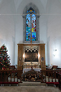 Israel, Haifa, Christmas Mass at Stella Maris Carmelite Church, Mt. Carmel December 31st 2007