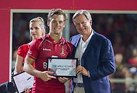 ANTWERPEN - topscorer Tom Boon (Belgie)   , na de finale mannen  Belgie-Spanje (5-0),  bij het Europees kampioenschap hockey.   COPYRIGHT KOEN SUYK